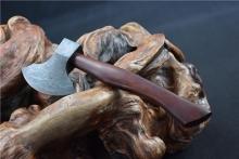 01549花纹钢手斧(十八般兵器)